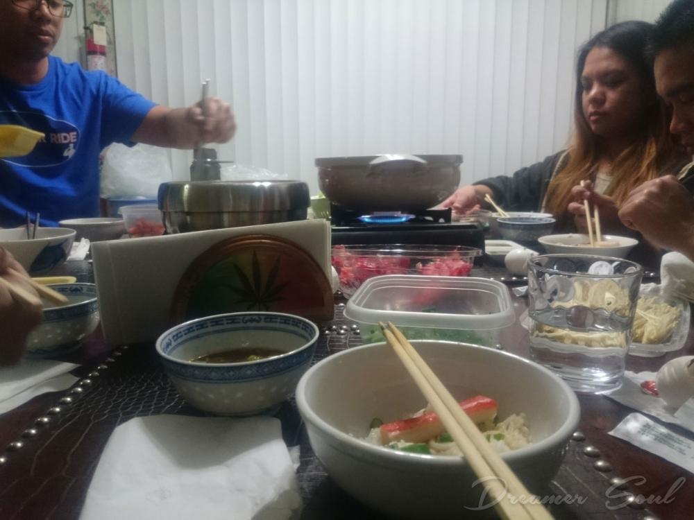 Break for hotpot!