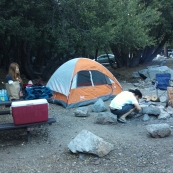 Tenting skills of peace
