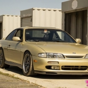 Champagne Zenki S14 Drift/Grip IV Grange Circuit Superwow Factory