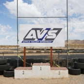 avs apple valley speedway podium