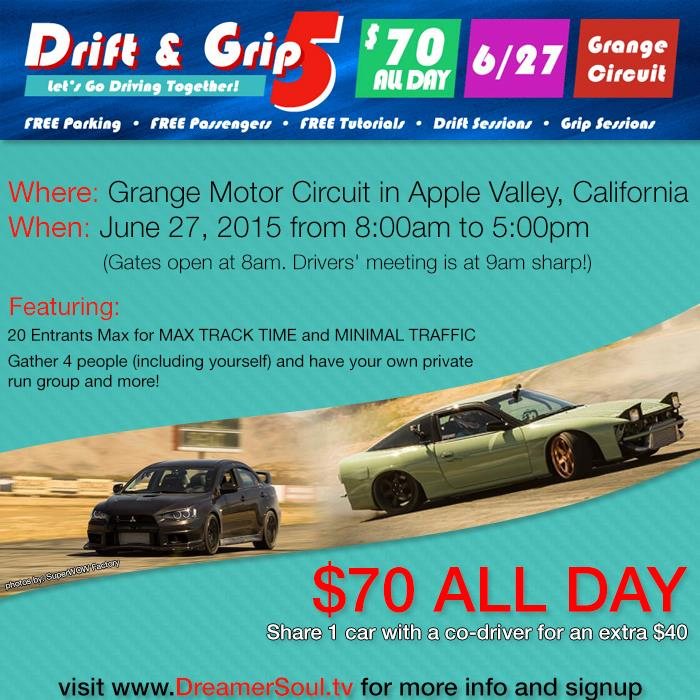 Drift Grip V Flyer