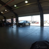 asian dudes and their porsches chatting it up